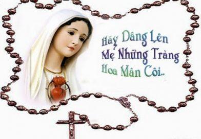 Đức Thánh Cha Phanxicô khởi xướng lần chuỗi Mân Côi'